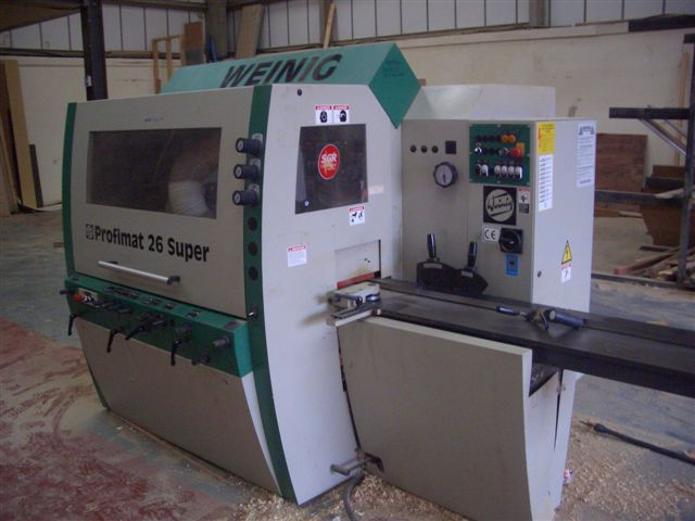 Woodworking Moulder - Click To Enlarge